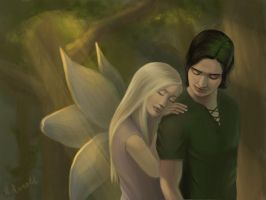 Laurel and Tamani by hollyfaith