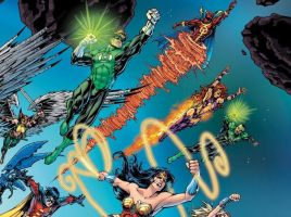 DC Heroes United Poster 2007 Closer Look 5 by Hominids