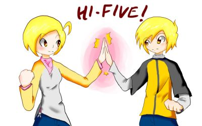 High-Five! by Tyxant