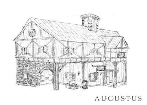 Tavern Concept Drawing by Lorti88