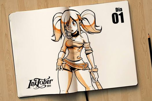 INKTOBER 2017 #1 by GACHY-CELTA