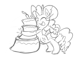 Pankaa Cake by leadhooves