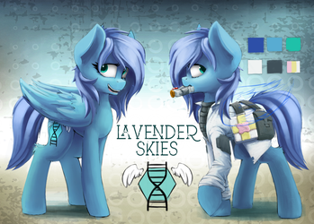 Lavender Skies Ref by blvckmagic