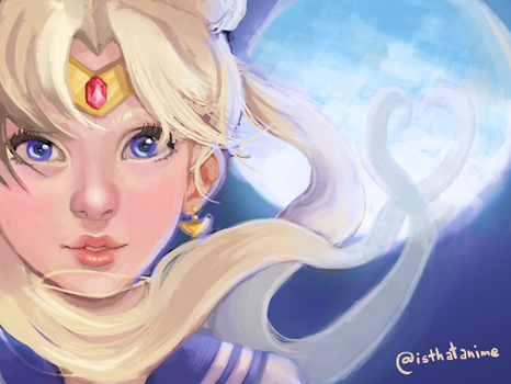 Sailor Moon by Phinnimonster
