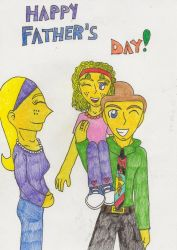 Happy Father's Day by MSKM2001