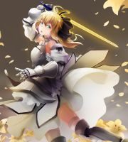 Saber Lily by Ocamint