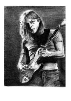 David Gilmour by The-OXette by Virtuoso-Guitarists