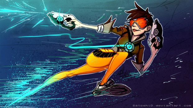 Tracer - OverWatch by SatoshiD