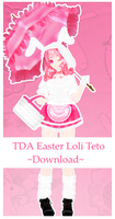 TDA Easter Loli Teto +DL by olivemoone