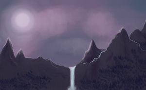 Practise - Foreign mountains by Liviatar