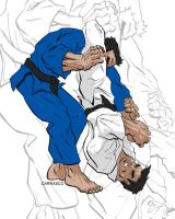 jiu jitsu battle by MANu1