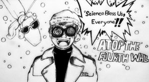 Science Bless us ~ Merry Christmas from AT4W by Emmybomber