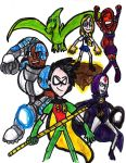 Teen Titans: We Stand Together by SonicClone