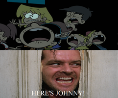 Here's Johnny The Loud Kids by MarcosPower1996