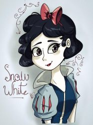 snow white by MoonlightWolf17
