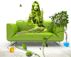 Green Lady by Statique77