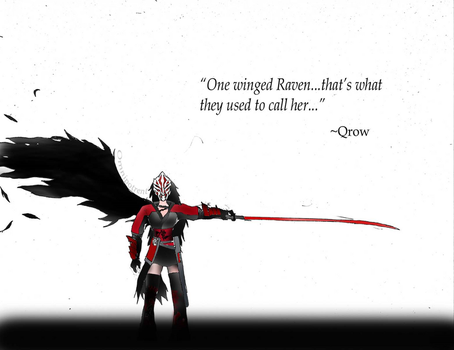 Rwby: One Winged Raven by Omnipotrent