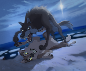 Aleu and Niju by Astarcis