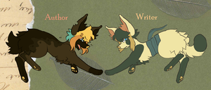 Writer and Author by Rye-Whiskey