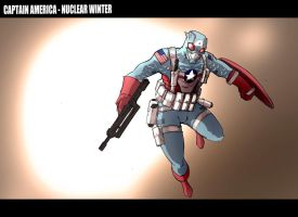 CaptainAmerica-Nuclear Winter by jdcunard