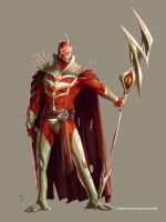 Lord Zedd color by Fpeniche