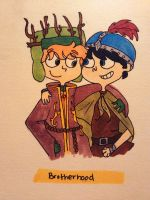ok so stan may not be an elf... by AskKyle--Broflovski