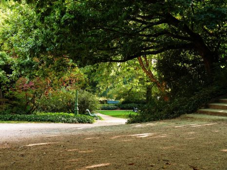 Parc du Thabor by Behind--the-lens