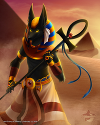 Anubis by Silberry