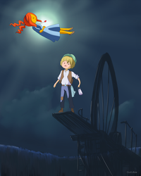 Adventure Time x Castle in the Sky - Crossover by GustyBow