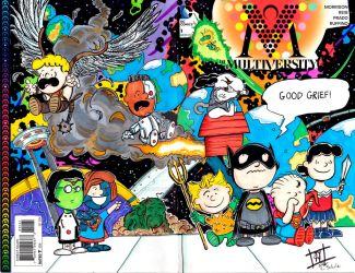 Multiversity DC Peanuts Sketch Cover by John Yuan by TheYuanTwins