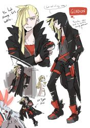 Pokemon Sun and Moon : Grown up Gladion by DC9spot
