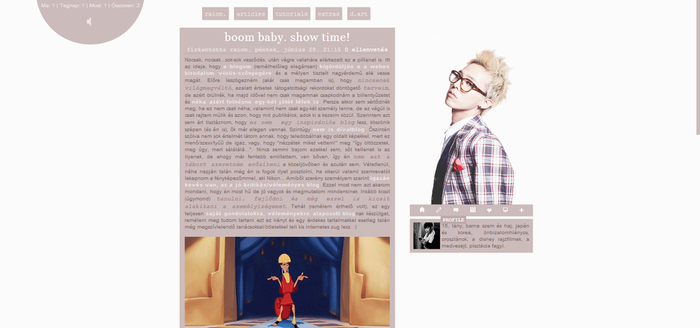 My Blog's Layout #1 by itsRaion