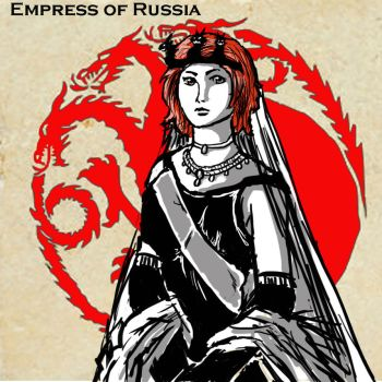 Natasha: Empress of Russia by FaramirSwag
