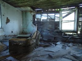 Ruined House Interior by PikKatze
