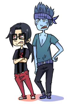 Commission4- Hipsters Unite by BaronBamboozle