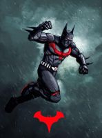 Batman Beyond by xashe
