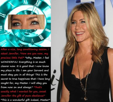 Jennifer Aniston: Further Conditioning! (6) by HypnoHunter