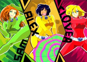 Totally Spies by Artfrog75