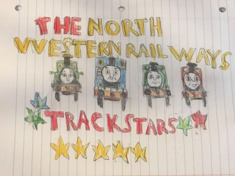 The north western railways trackstars by supertoad129