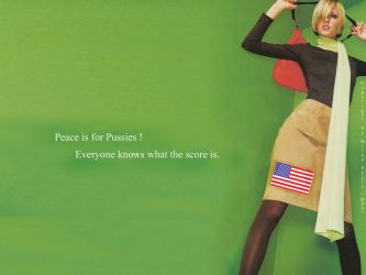 Peace is for Pussies by mpx1