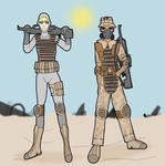ZSD soldiers by TheReptilianGeneral