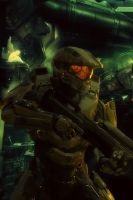 Halo 4 Master Chief iPhone Wallpaper 1 by Smyf