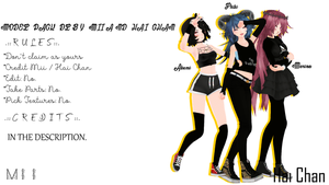 COLLAB | 3 Model Pack | DL LIMITED | READ DESC. by Miihh