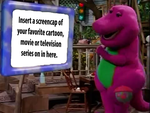Barney Watches This On Adventure Screen Meme by bigpurplemuppet99