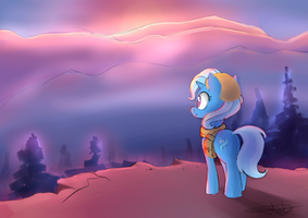 NATG17 Day 11:  Journey to sunset by PucksterV