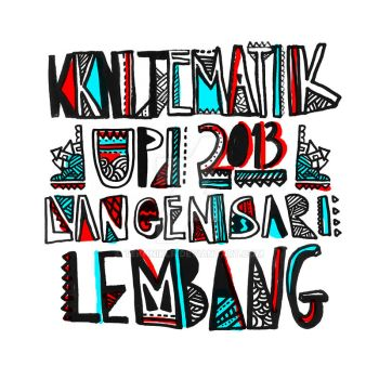 Langensari: The Typography by tekhniklr