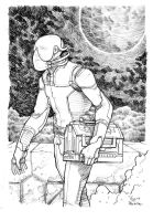 space worker by laseraw