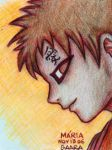 SAND Gaara by mariapalitos68