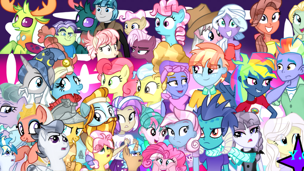 MLP S7 Characters (W/BG by YayCelestia0331