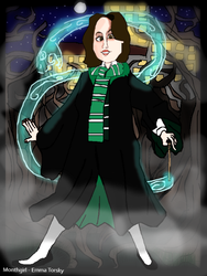 hogwarts monthgirl by monthgirl